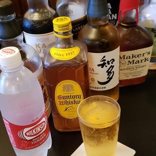 麦酒、日本酒に続き・・・。ハイボール、始めました。