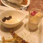 Girasole - デザートとコーヒー
