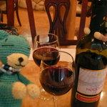 9272436 - 赤ワインをボトルで