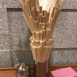 92721087 - 箸タワー