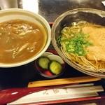Inakasobamiyuki - カレー丼とたぬきのセット850円