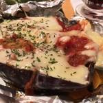 浜の玄太丸 - 丸ナスチーズ焼き
