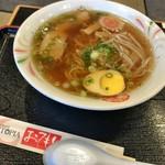 レストラン・サントピア  - 醤油ラーメン
