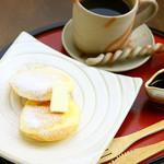ぷちセット(パンケーキ+ドリンク)