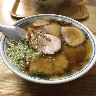 たかよし麺類食堂 - チャーシュー麺❣️