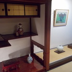 門前茶寮彌生座 - 床の間がある2階個室