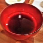 粗挽き蕎麦 トキ - [料理] 蕎麦 & 天ぷら 兼用つゆ アップ♪w
