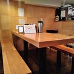 粗挽き蕎麦 トキ - [内観] 店内 テーブル席