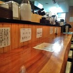 粗挽き蕎麦 トキ - [内観] 店内 カウンター席 ③