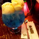 ギオン - ソーダ水・アイスクリームトッピング450円(アイストッピングプラス150円)