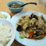 一番飯店 - 野菜炒め定食760円也