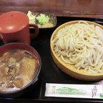 手打うどん 大井戸 - きのこ汁うどん大盛(900円)_2011-08-30