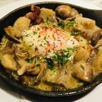【秋メニュー】いろいろキノコと里芋のクリーム煮