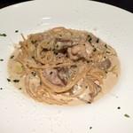 Italian Kitchen BUONO - 千葉県産地鶏とポルチーニ:トリュフのクリームソース