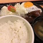 バーグ - ハンバーグ定食