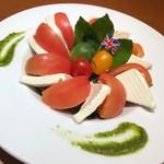 Wine&Bird Diner - カプレーゼ