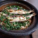 和の食 いがらし - 鮎の炊き込みご飯