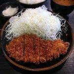 とん竹 - とんかつランチ¥850 2018.9.5