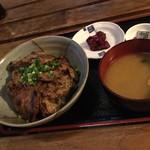 92737048 - カフェN36° 味噌漬け豚丼セット
