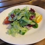 92737054 - カフェN36° 有機野菜のサラダが美味しい