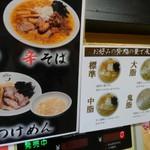 麺工 豊潤亭 - 背脂の量