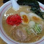 麺小屋 ここりこ - いつもの鶏白湯らーめん650円+味玉100円✌️