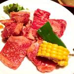 92738602 - 焼肉ランチ お肉大盛り