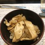 92738919 - 山猫風松茸ごはん