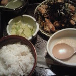 鳥元 - 揚げ若鳥定食