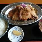 92742300 - しょうが焼き定食(2018/4/25)