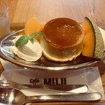 Cafe MUJI - プリンアラモード