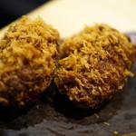 肉のヒマラヤ Teppan - メンチカツ