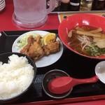 めん処マサムネ屋 - A定食 780円