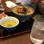 串かつあさひ - 鮭茶漬け