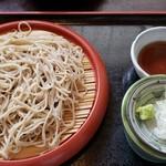 味里 - 料理写真:もりくるみ汁そば(840円)