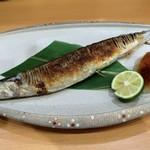 片町 弥ひろ - 新さんま塩焼き