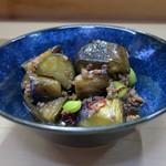 家庭料理 小川 - なす肉そぼろ