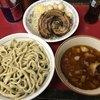 Hasumi - 料理写真:小つけ麺850円+巻きちゃあ200円+うずら100円