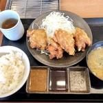 からやま - 料理写真:からやま定食637円