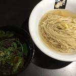 超純水採麺 天国屋 - 2018/9/15限定・昆布生姜水の温盛りつけ麺(900円)