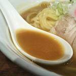 大勝軒まるいち - スープ