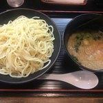 らーめん寺子屋 麺座 鷲ノ巣 - つけ麺 大盛(400g)860円