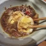 七つ海堂 - 煮玉子も美味い