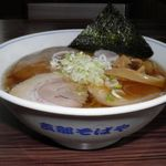 のみくい処 ふか川 - 料理写真:博多地鶏 醤油ラーメン 750円