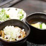 大阪家 - 小鉢3品