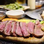 大阪家 - 牛かたまり肉の鉄板焼き