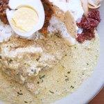 フィッシュ - 白身魚カレーはミルクと生クリームベース