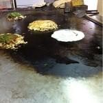 9276788 - 調理テーブルの鉄板