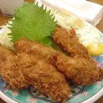 第二力酒蔵 - 牡蠣フライ☆1200円