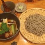 蕎麦 游山 - 料理写真:鴨つくね汁せいろ